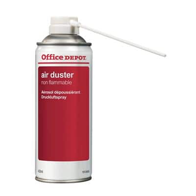 Office Depot Air Duster Red, White 400 ml