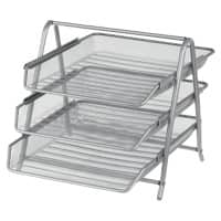 Office Depot Filing Shelves Silver Wire, Mesh 27 x 35.5 x 26.5 cm