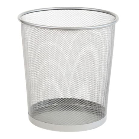 Office Depot Executive Mesh Waste Bin 15 litre capacity – Silver