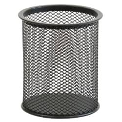 Office Depot Executive Mesh Pencil Cup - Black