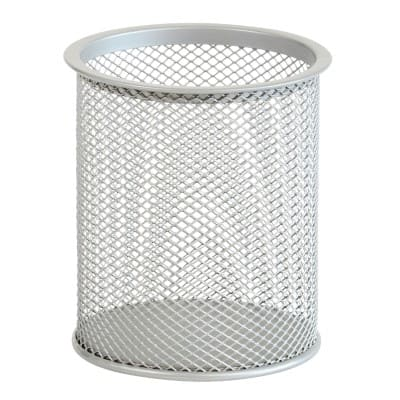 Office Depot Executive Mesh Pencil Cup - Silver