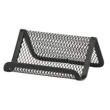 Business card holders desk organisation viking direct ie office depot executive mesh business card holder black reheart Image collections