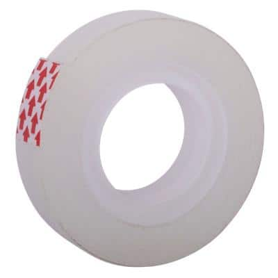 Niceday Office Tape Small Core Easy Tear Polypropylene 12mm x 33m Transparent 12 Rolls