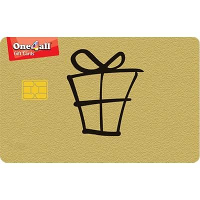 One4all Gold Chip and Pin Card 200 Euro