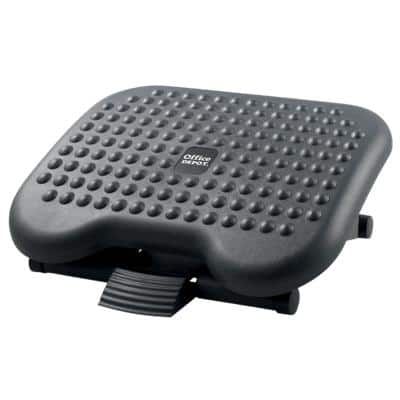 Office Depot Footrest Height Adjustable 460 x 360 mm Grey, Black
