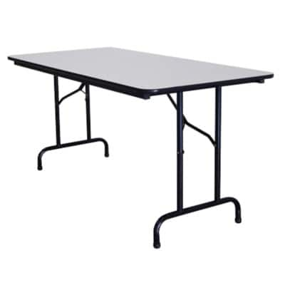 rs to.go Stackable folding Table H735 x W760 x D1830mm - Light Grey
