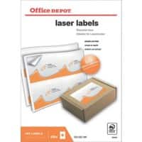 Office Depot Laser Labels Self Adhesive 139 x 99.1 mm White 400 Labels