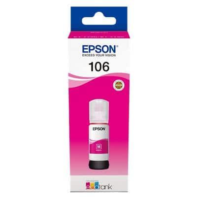 Epson 106 Original Ink Cartridge C13T00R340 Magenta 70 ml