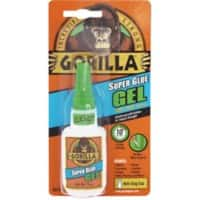 Gorilla Super Glue Gel Transparent 15g