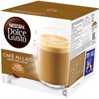 NESCAFÉ Dolce Gusto Café au Lait Coffee Pods 1Pack of 6