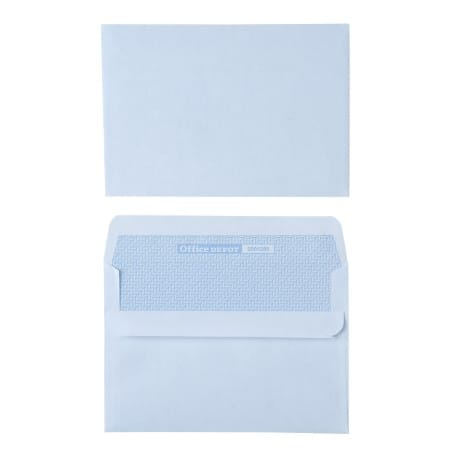 Office Depot Envelopes c6 80gsm White plain self seal 1000 pieces