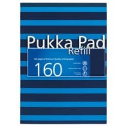 Pukka Navy Refill Pad A4 Blue - Pack of 6