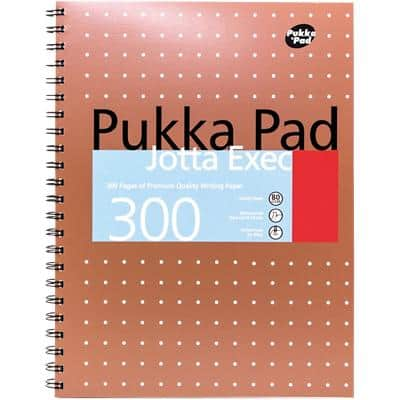 Pukka Pad Notebook Jotta Executive A4 Ruled A4 Ruled Perforated 300 Pages 3 Pieces of 150 Sheets