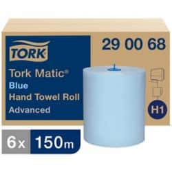 Tork Paper Hand Towels Matic 2 ply 6 rolls of 625 sheets