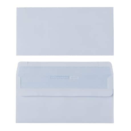 Office Depot Envelopes dl 90gsm White plain self seal 500 pieces
