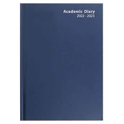 Niceday Academic Diary A5 1 Day per page 2019, 2020 Blue