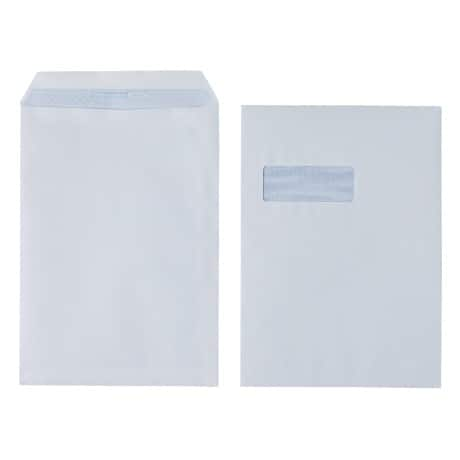 Office Depot Envelopes c4 90gsm White window self seal 250 pieces