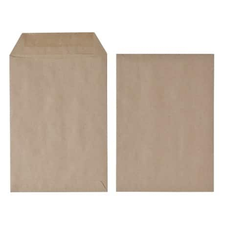 Office Depot Envelopes c5 75gsm Brown plain gummed 500 pieces
