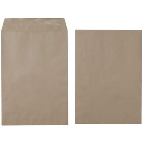 Office Depot Envelopes c4 80gsm Brown plain gummed 250 pieces