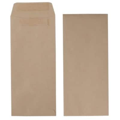 Office Depot Envelopes Non standard 90gsm Brown Plain Self Seal 500 Pieces