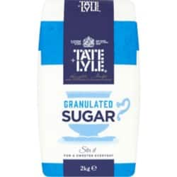 Tate & Lyle Granulated Sugar 2 kg