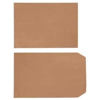 Office Depot C5 Kraft Pouches 162 x 229mm Self Seal Plain 90gsm Brown 500 Pieces