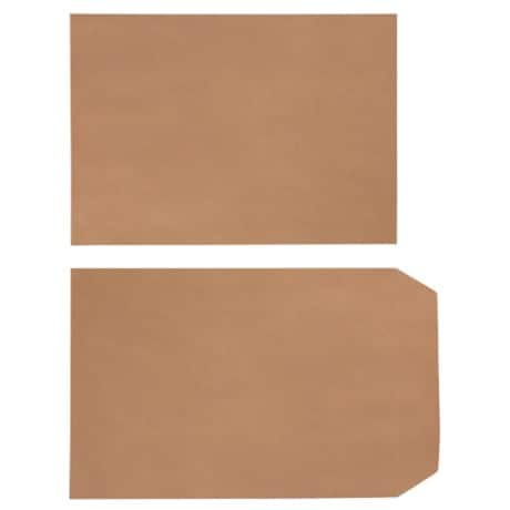 Office Depot Envelopes c5 90gsm Brown plain self seal 500 pieces