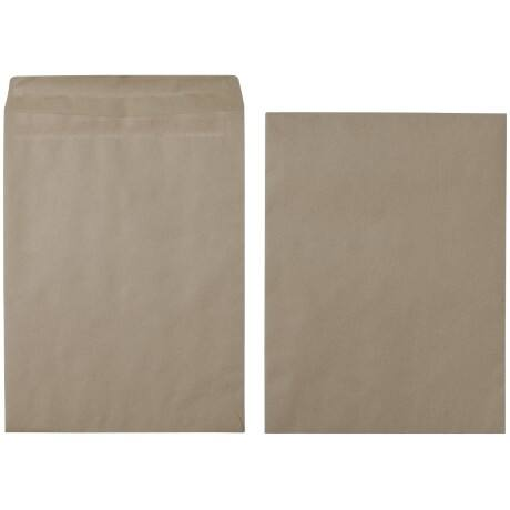 Office Depot Envelopes 90gsm Brown plain self seal 250 pieces