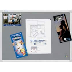 Franken Notice Board X-tra!Line Grey 1,200 x 1,800 mm