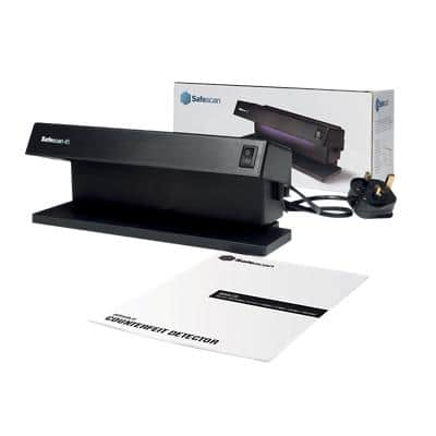 Safescan 45 Counterfeit Detector Black