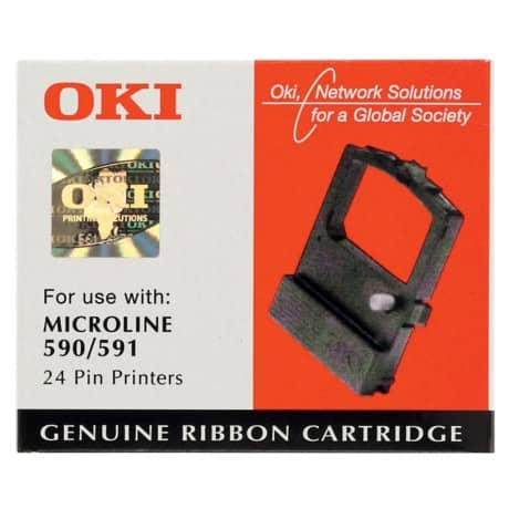 OKI Printer Ribbon Black