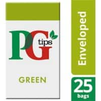 PG tips Green Tea Bags 25 Pieces