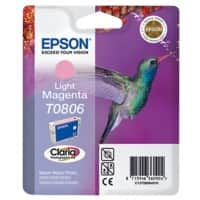 Epson T0806 Original Ink Cartridge C13T08064011 Light Magenta
