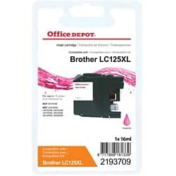 Office Depot Compatible Brother LC125XL Ink Cartridge Magenta