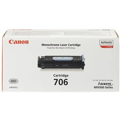 Canon 706 Original Toner Cartridge Black