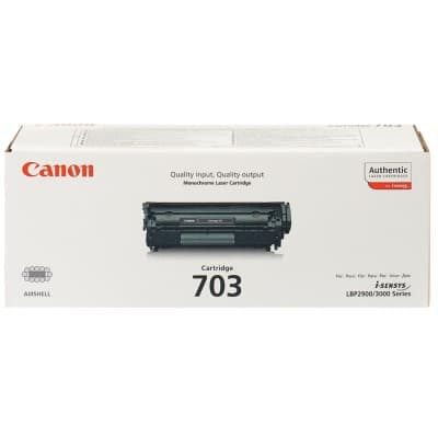 Canon 703 Original Toner Cartridge Black