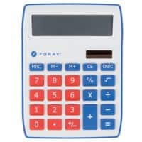 Foray Generation Desktop Calculator Red
