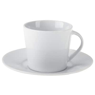 Niceday Tea Cup and Saucers Pack 6