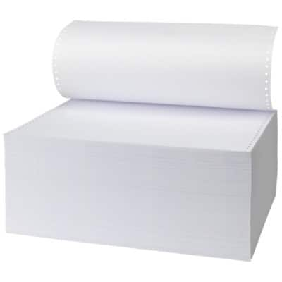 Niceday Listing Paper, 1 Part Plain with standard vp's, 279 x 370 mm, 60gsm
