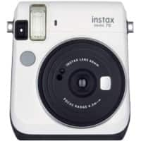Fujifilm Instant Camera Instax Mini 70 20 Megapixel Moon White