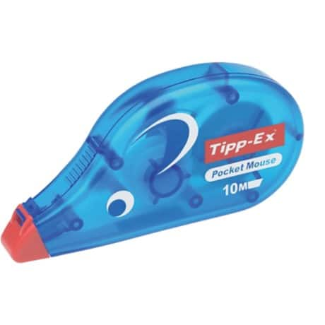 Tipp-Ex Pocket Mouse Correction Tape Roller Disposable 4.2mm x 10m