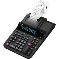 Casio Printing Calculator FR-620RE 12 Digit Display Black