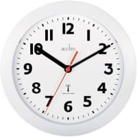 Acctim Wall Clock Radiocontrol 23 x 3.2 cm White