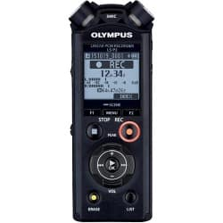 OLYMPUS Digital Voice Recorder LS-P2 black