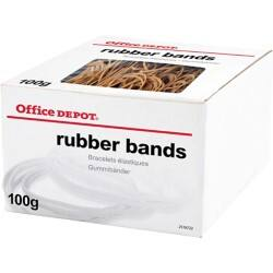 Office Depot Brown Rubber Bands Assorted Sizes 100 g