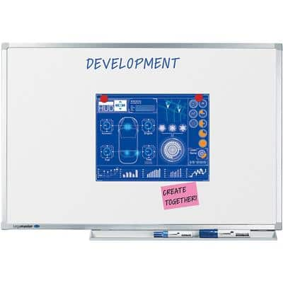 Legamaster Wall Mountable Professional Magnetic Whiteboard Enamel 90 x 60 cm