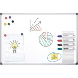 Office Depot Standard magnetic Whiteboard lacquered steel 90 x 60 cm