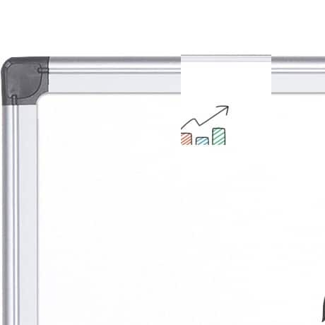 Office Depot Superior magnetic Whiteboard enamel 60 x 90 cm