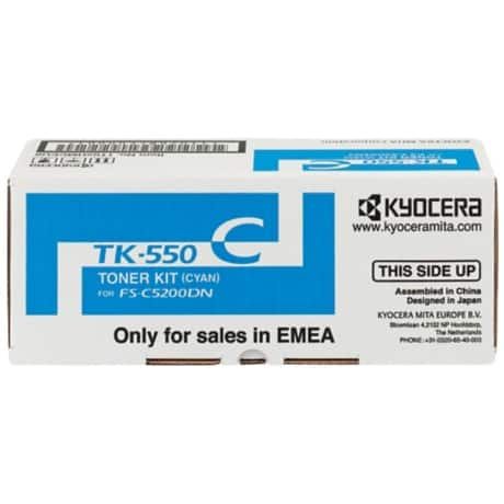 Kyocera TK-550K Original Toner Cartridge Black