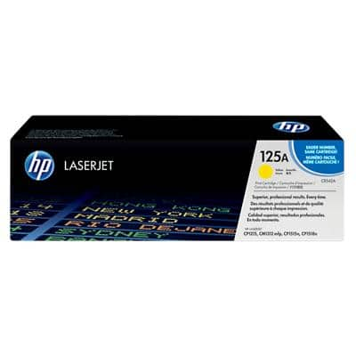 HP 125A Original Toner Cartridge CB542A Yellow